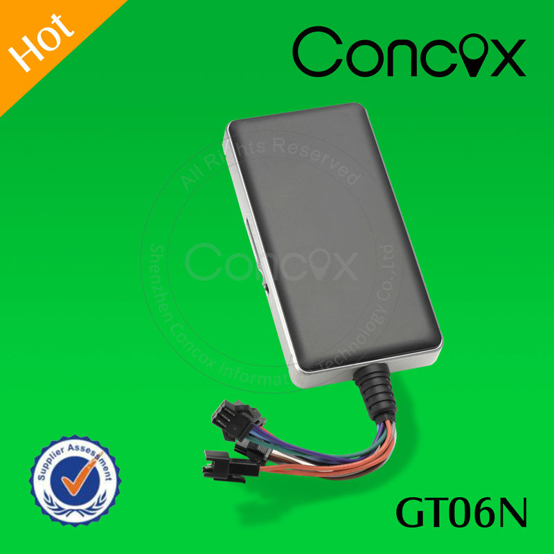 GPS tracker boats with Geo-fence,over speeding alarm Concox GT06N