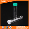 PET plastic oval gum bottle with snap cap safty cap pharmaceutical use plastic tube effervescent tablet tube with tearing cap