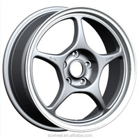 15 16 17inch new design aftermarket alloy wheel car rims for sale with pcd 4x100 4x114.3