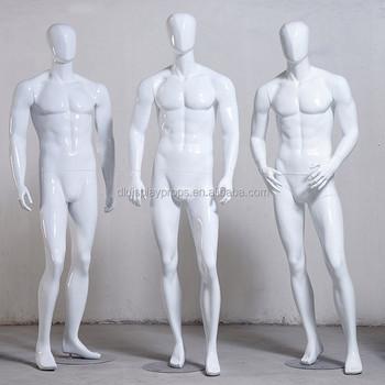 Yuksek Dereceli Erkekler Hayalet Modeli Moda Parlak Beyaz Erkekler
