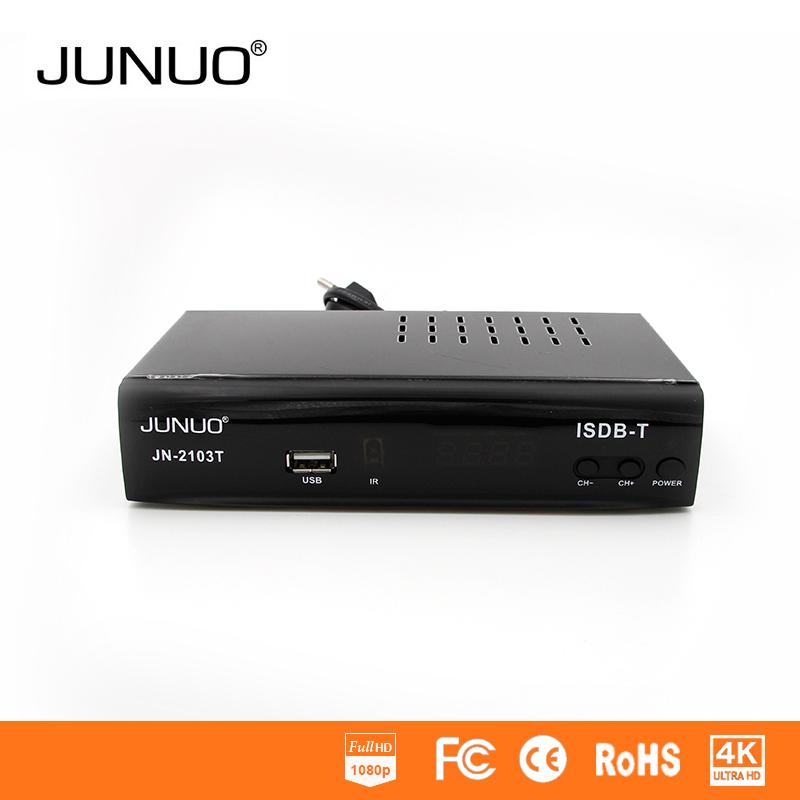 JUNUO Factory Price  ISDB-T   Receptor de TV / set top box / conversor  For  Brazil