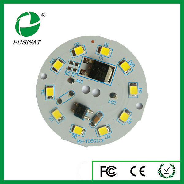 India Price Driverless Led Smd 5630 Pcb Board For Downlight - Buy Led Smd  5630 Pcb Board,Led Tubes T8 Pcb,Electronic Circuit Board Product on