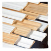 Decorative radiata pine finger joint wood mouldings Supplier