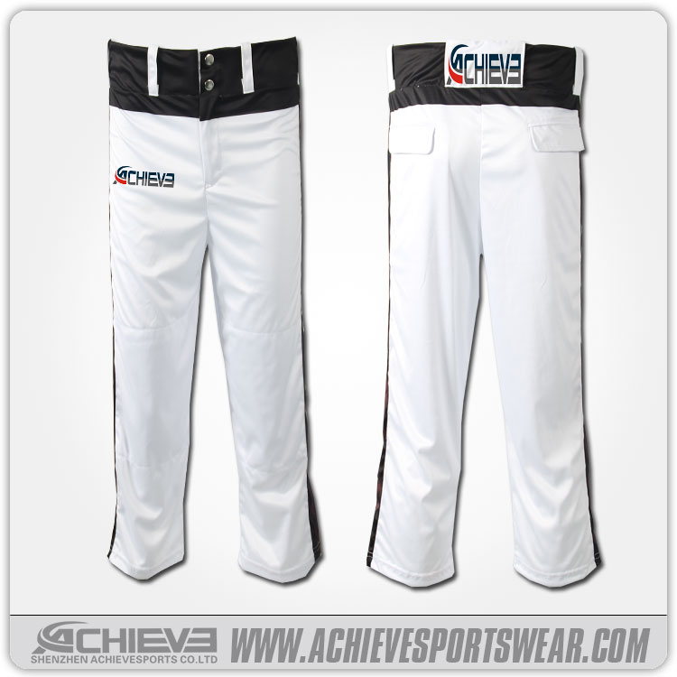 OEM Service sublimated printing baseball dress Mens breathable blank/plain baseball short pants pakistan customize