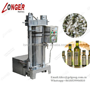Hydraulic Food Hemp Seed Cold Oil Extraction Press Machine