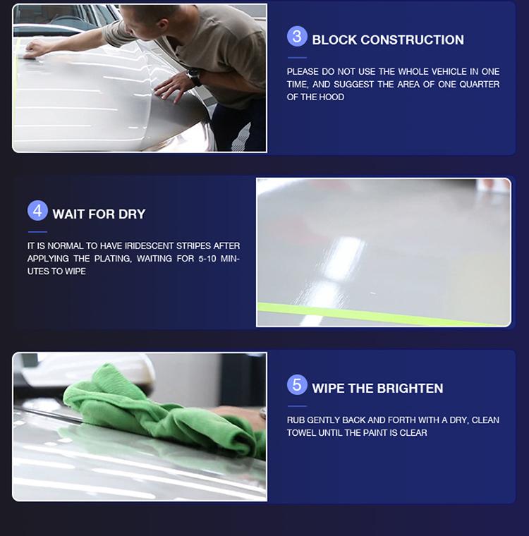 MR FIX 9H Super Hydrophobic Nano Ceramic  car coating