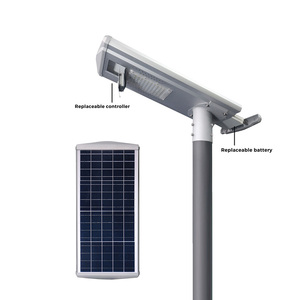 road street light pole 30 watt solar street lights Chinese factory
