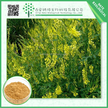 High quality Yellow Sweet Clover extract manufactures 5% Cumarin by HPLC
