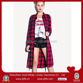 9b7247142d Long Cotton Check Shirts For Girls - Buy Long Cotton Shirts For  Girls,Checked Shirts For Women,Ladies Long Checked Shirt Product on  Alibaba.com