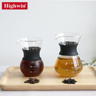 Highwin BSCI Manual Drip Commercial Handy Tea Maker Wholesale Cold Brew Iced Coffee Dripper