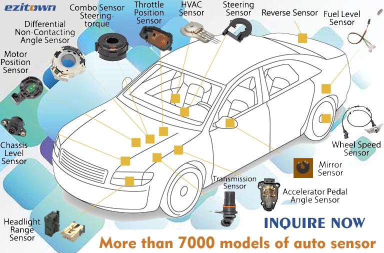 Ezitown Auto Part Camshaft Position Sensor For Mercedes Benz