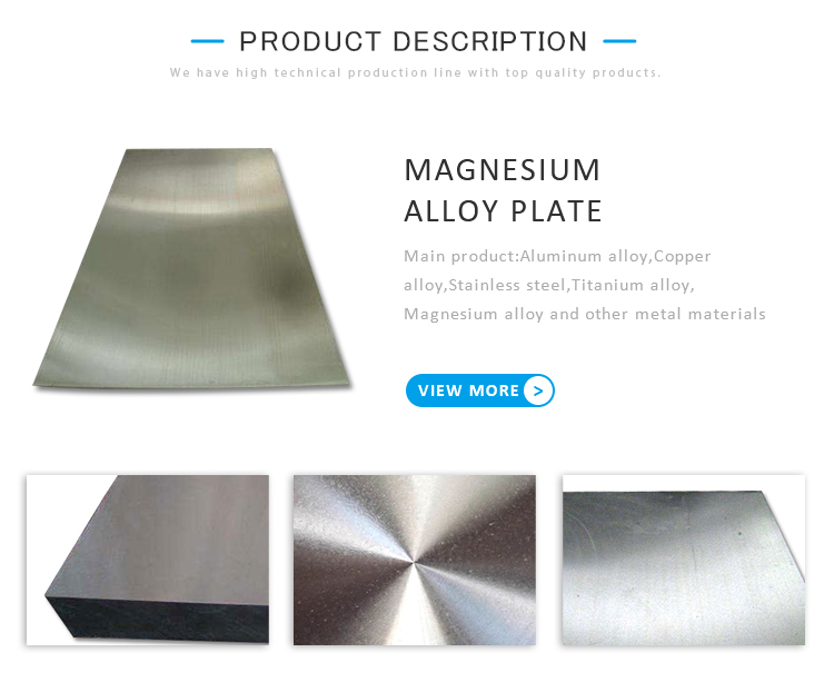 magnesium alloy plate sheet strongest corrosion various size
