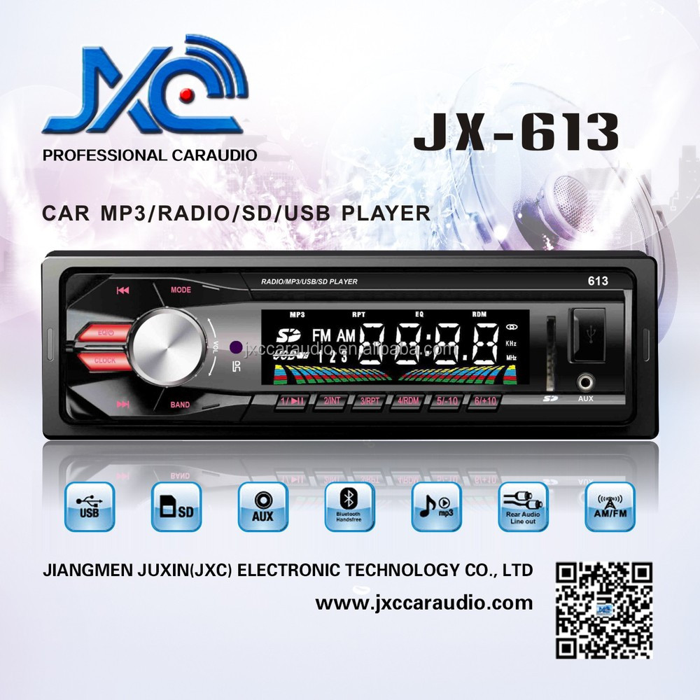 Car Mp3 Usb/sd Radio For Universal Bus/truck Jx-613