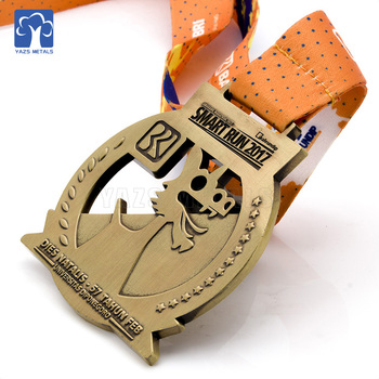 Custom high quality sports medal and trophy