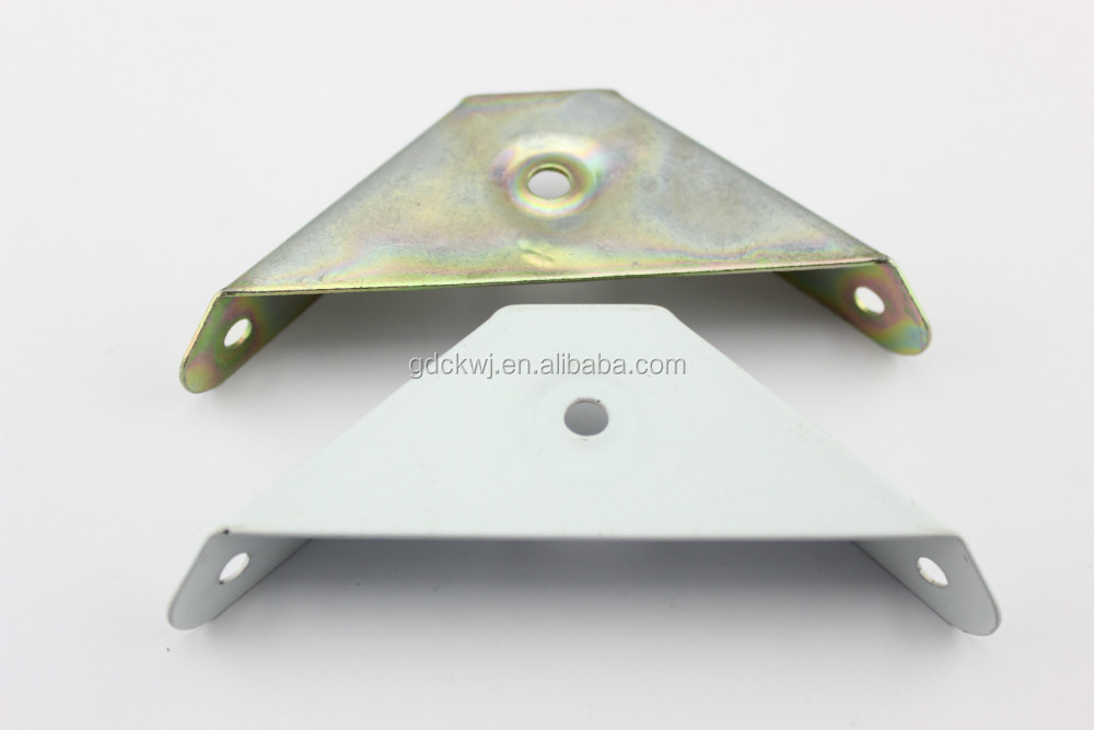 driehoek vormige metalen bed frame connector beugel bed corner