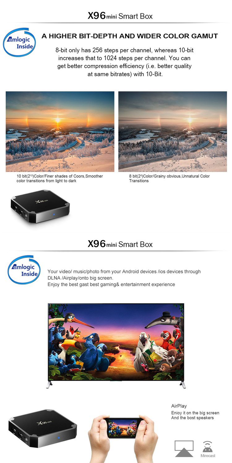 Firmware Update Tv Box X96 2gb 16gb Smart Amlogic S905w Quad Core Download  User Manual For Android X96 Tv Box - Buy S905w,Download User Manual For
