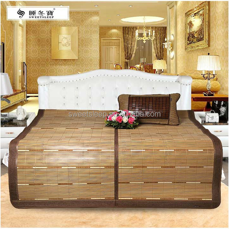 First choice of cool summer matting, bamboo mat bed/mat chair beach/bamboo matting
