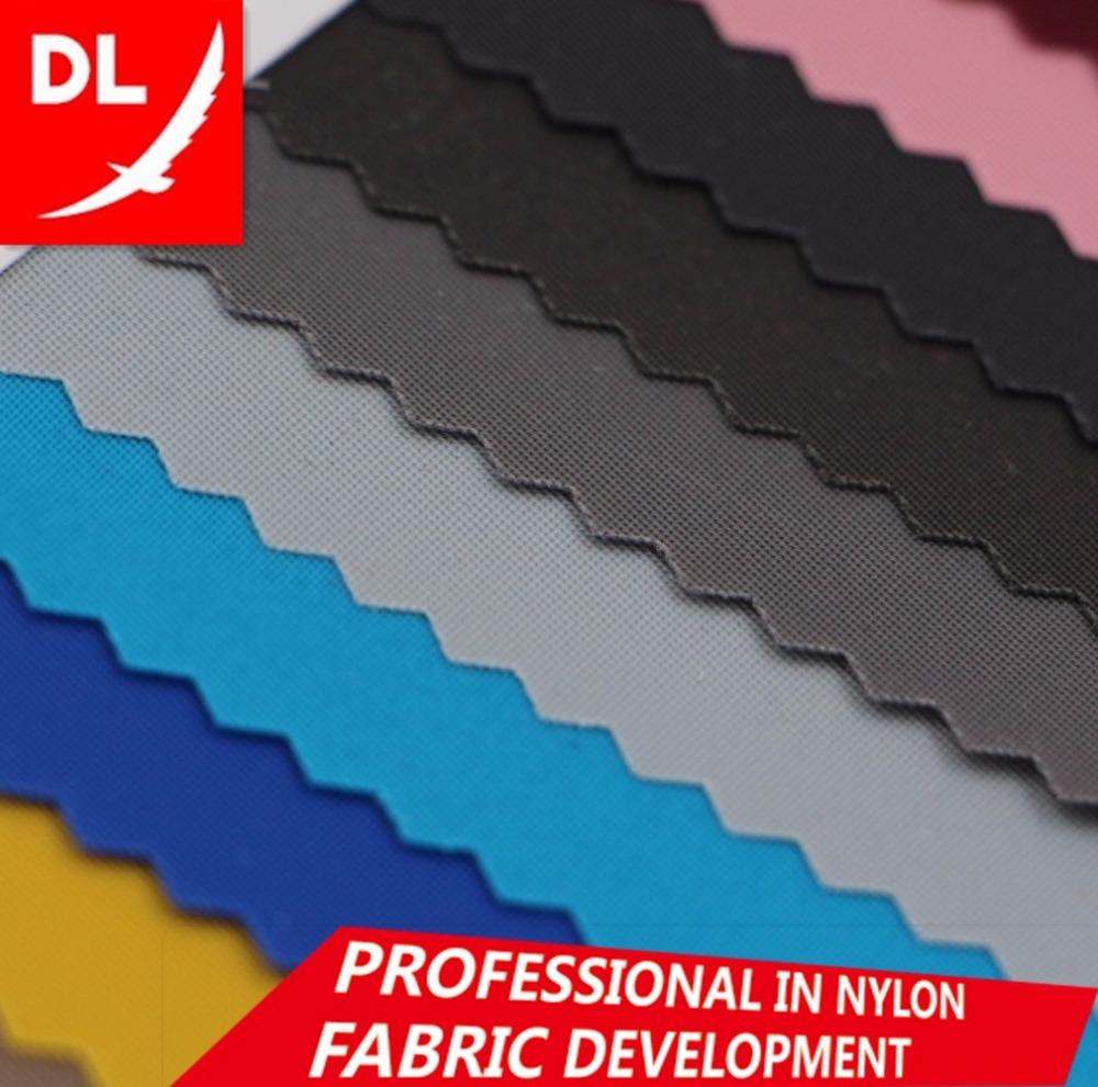 High quality 230D <strong>nylon</strong> oxford twill PU coating waterproof fabric