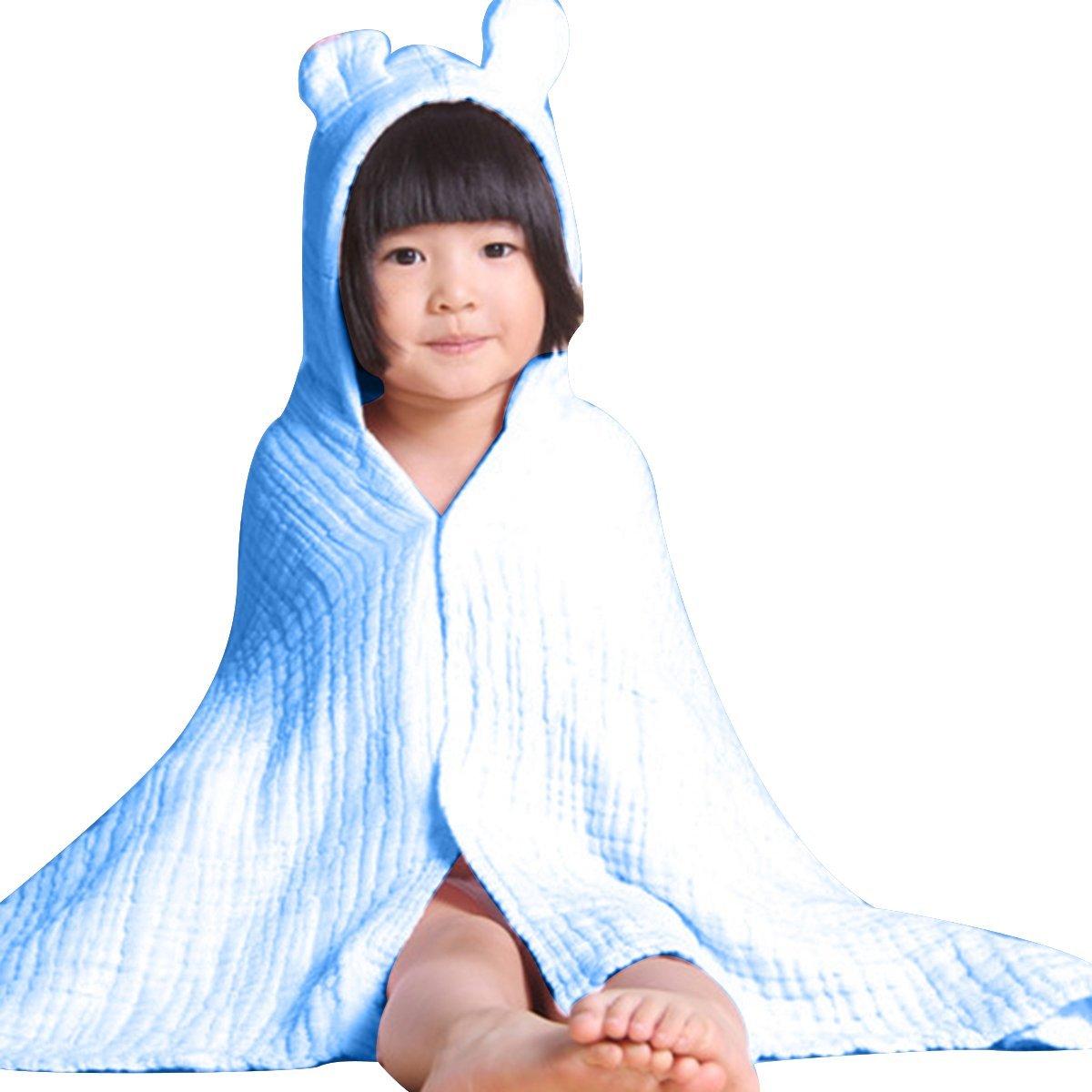 1b0813f928 Get Quotations · Kids Child Hooded Bathrobe Bath Towel Wrap