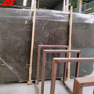 Factory Supplier polished Guangxi brown marble 24x24 flooring tiles