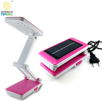 Solar Smd Led Foldable Desk Lamp