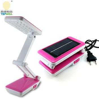 Solar Smd Led Foldable Desk Lamp