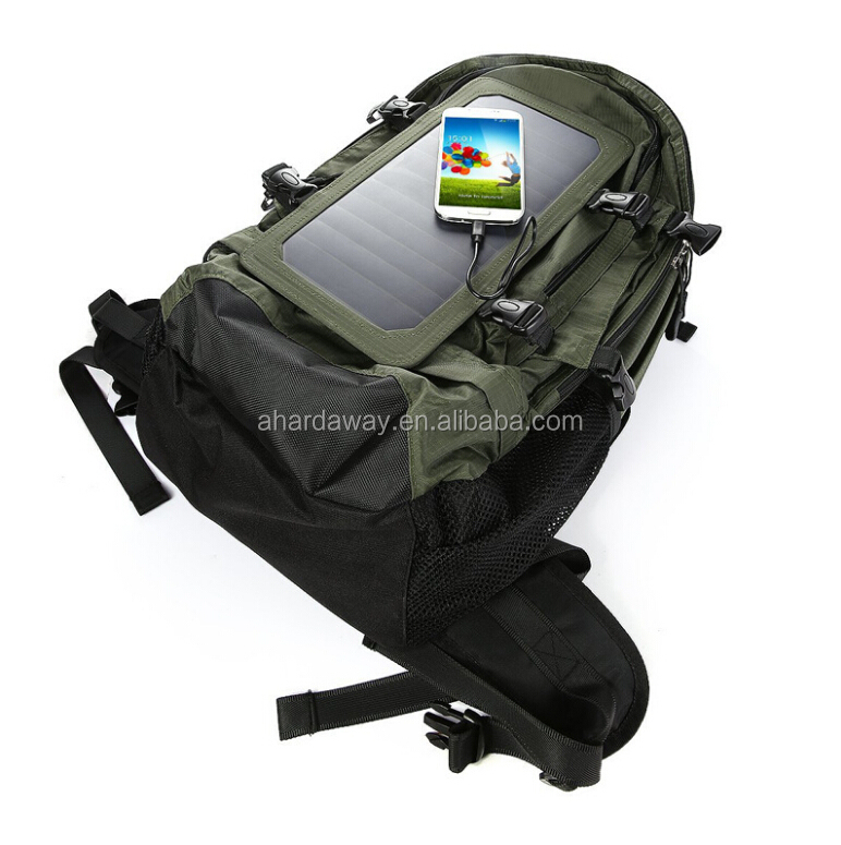 Export new design high quality solar panel backpack