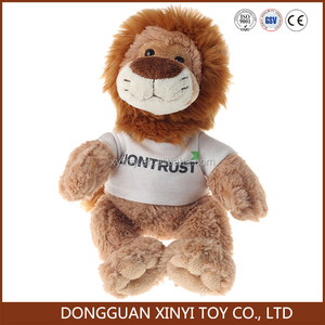ISO audited stuffed animaml plush lion soft toy