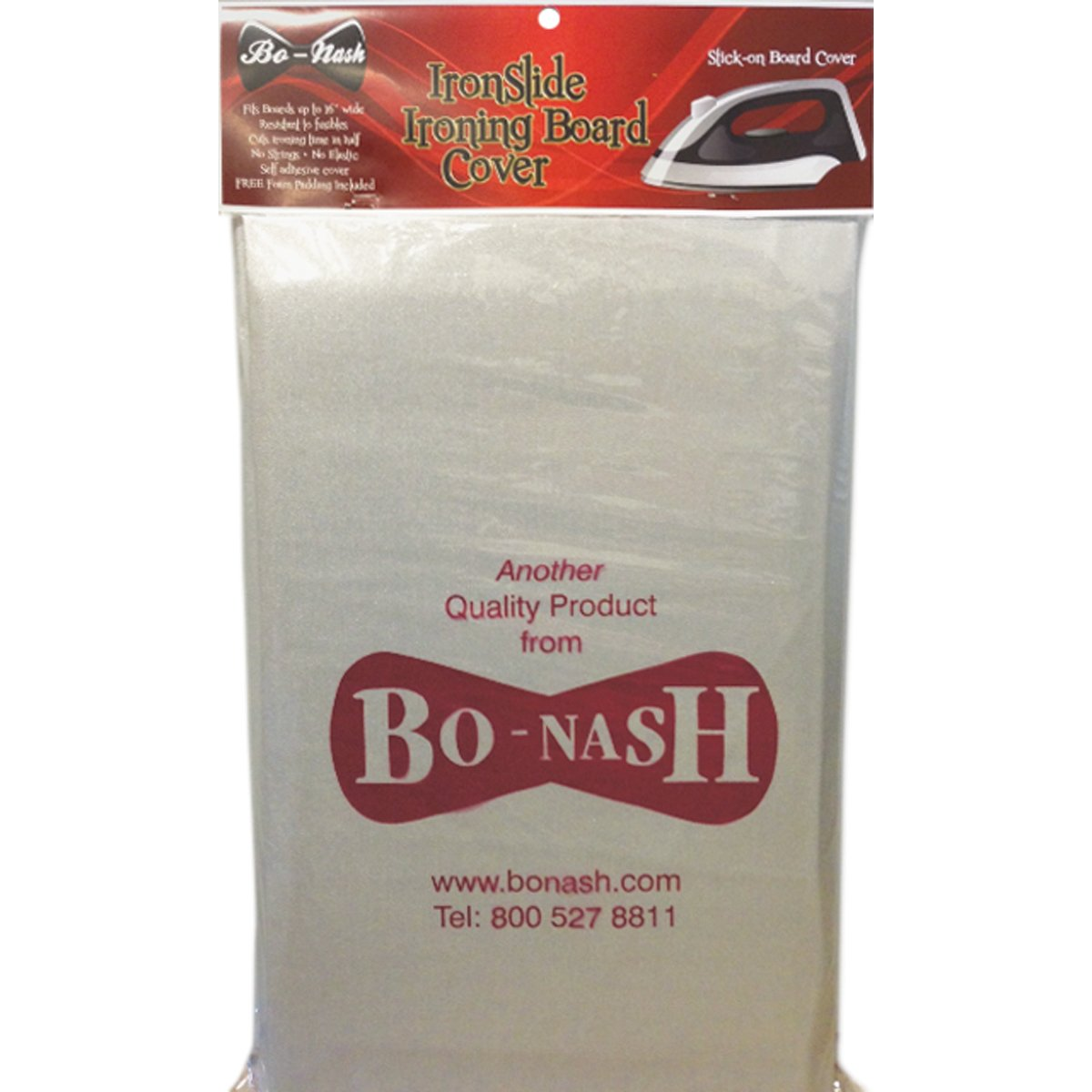 Bo-Nash 19-Inch-by-59-Inch IronSlide 2000 Ironing Board Cover