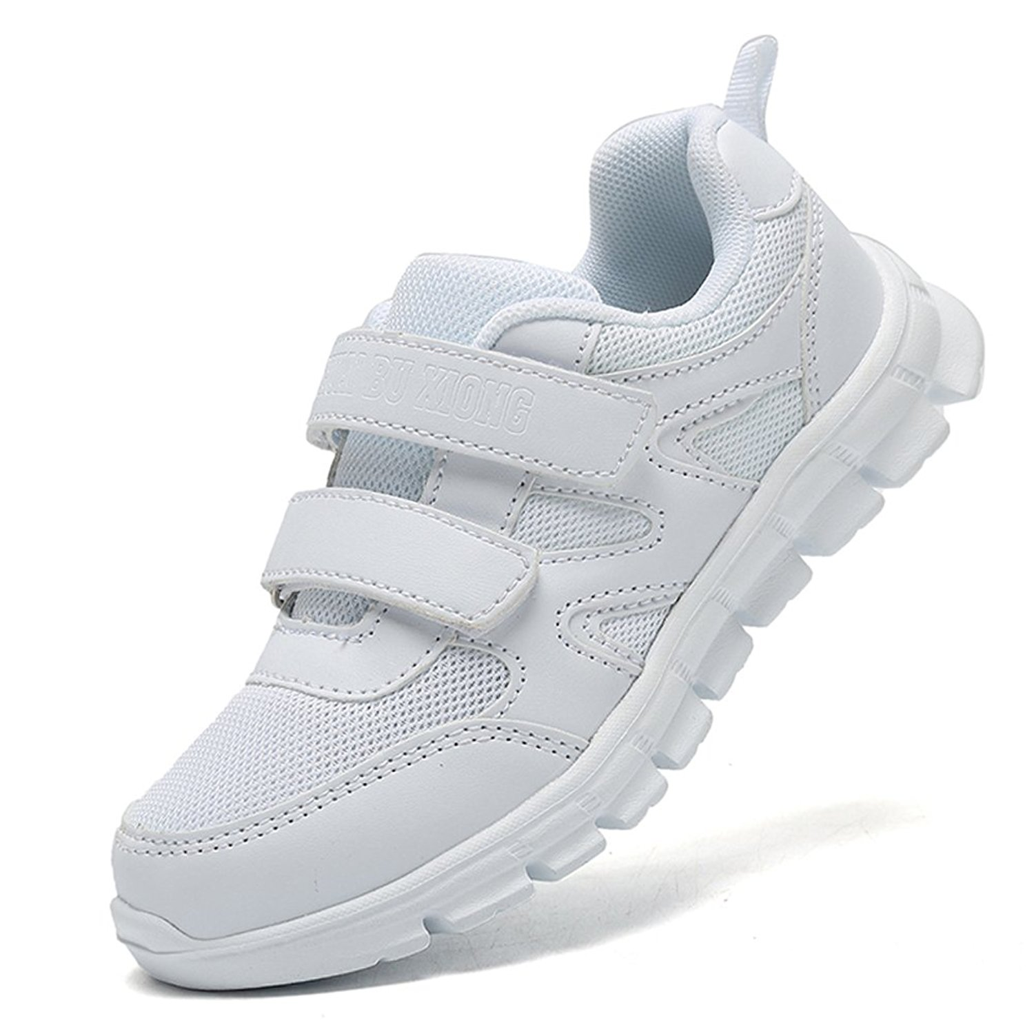 94cc26b4fe5 Get Quotations · LakeRom Girls Shoes for Kids Boys Sneakers School Uniform  White Shoes Casual Sport Shoes