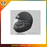 Factory price S M L XL XXL Dual Visor BLACK Motorcycle Full Face Helmet
