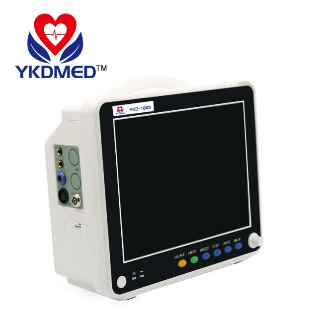YKD-1000 12.1 inch color TFT display multi-parameter patient monitor