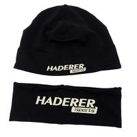 Running Hat&Headbands set Sports Skull Cap&headbands with Glow in The Dark logo