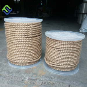 Natural Color jute hemp 6mm, 8mm, 10mm With High Strength