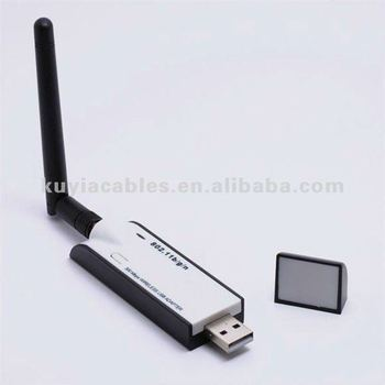 300m usb wifi adaptor wireless lan card with detachable antenna for desktop pc buy wireless. Black Bedroom Furniture Sets. Home Design Ideas