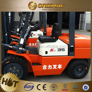 heli forklift of china cpcd50 5 ton forklift paper roll clamp