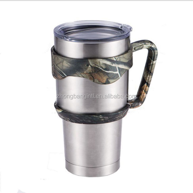 Custom Boss insulated stainless steel 30 oz tumbler cup/Powder Coated Vacuum Tumbler