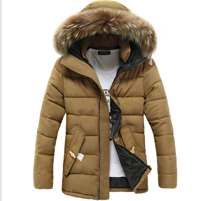 2016 men winter coat thick warm down jacket coats for men