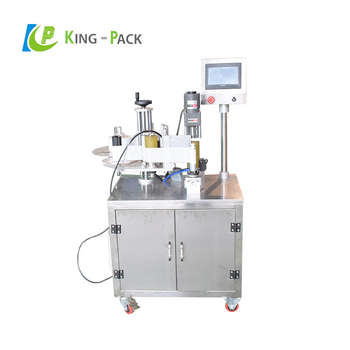 Automatic horizontal 10ml eye drop bottle labeling machine with CE certification