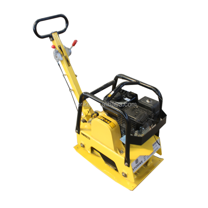 professional electric/gasoline/diesel plate compactor/vibrating tamping compactor