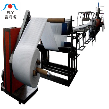 polyethylene epe foam sheet making machine