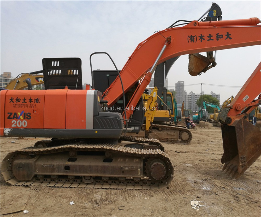Hydraulic ZX200-3 Zaxis Used Hitachi Construction Machinery ZX200 ZX350 ZX240 ZX450 Excavator
