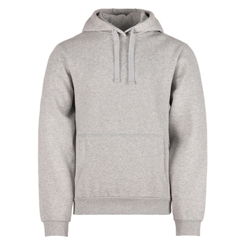 Customize printing embroidery logo 60%cotton 40%polyester plus size classic grey heavy weight fleece plain men's hoodie