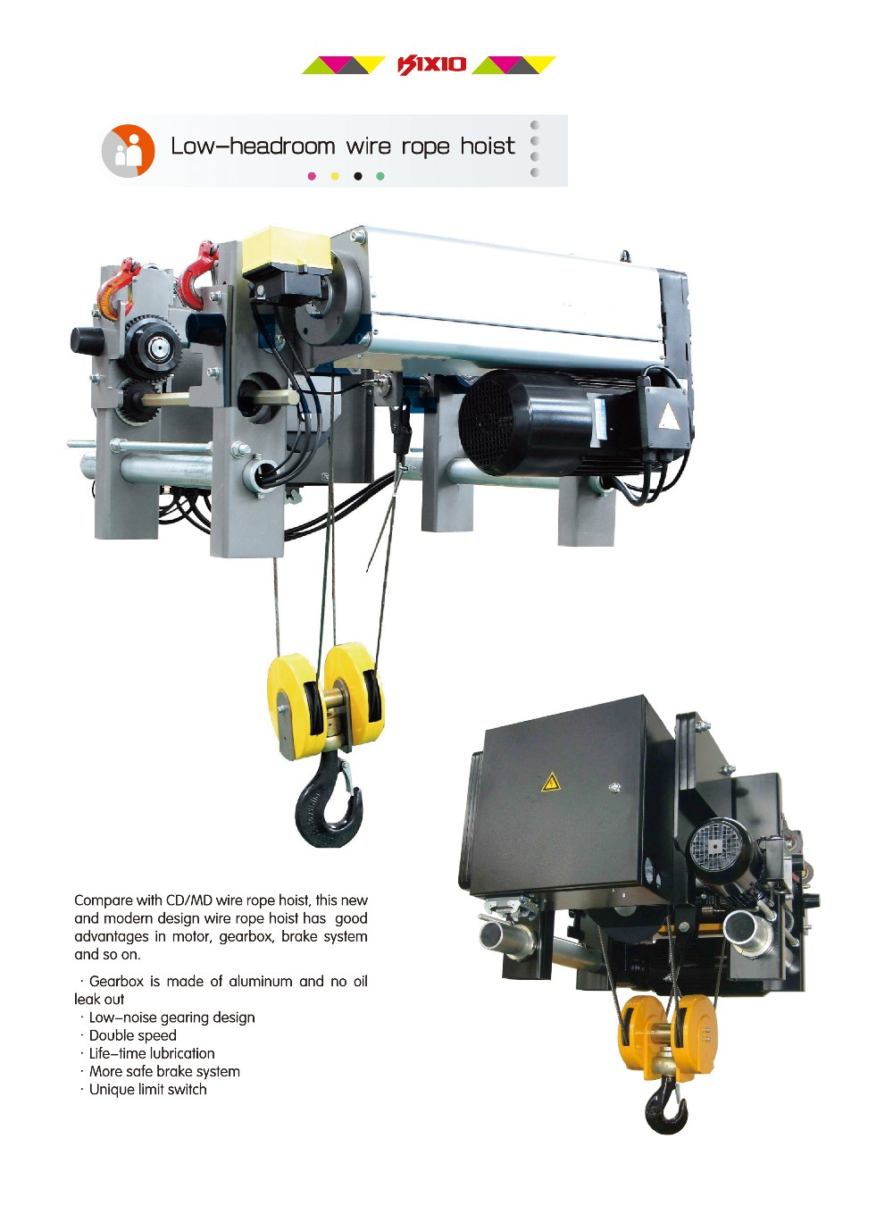 2 Speed Hoist Wiring Diagram Another Blog About Crane Brake Patent Us3971971 Overhead Wire Rope Galbreath Roll Off