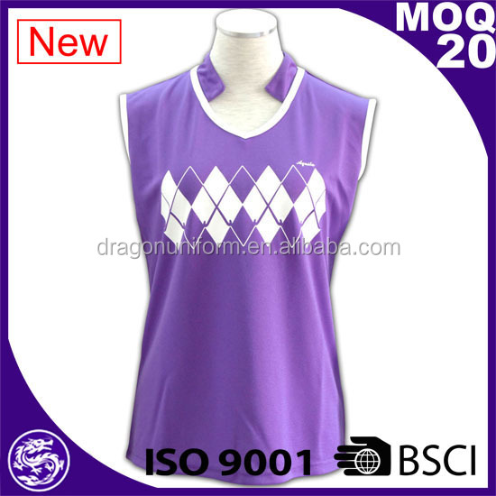 women purple sleeveless tank top Basketball Wear
