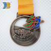 direct sell hollow running marathon custom metal sport medal