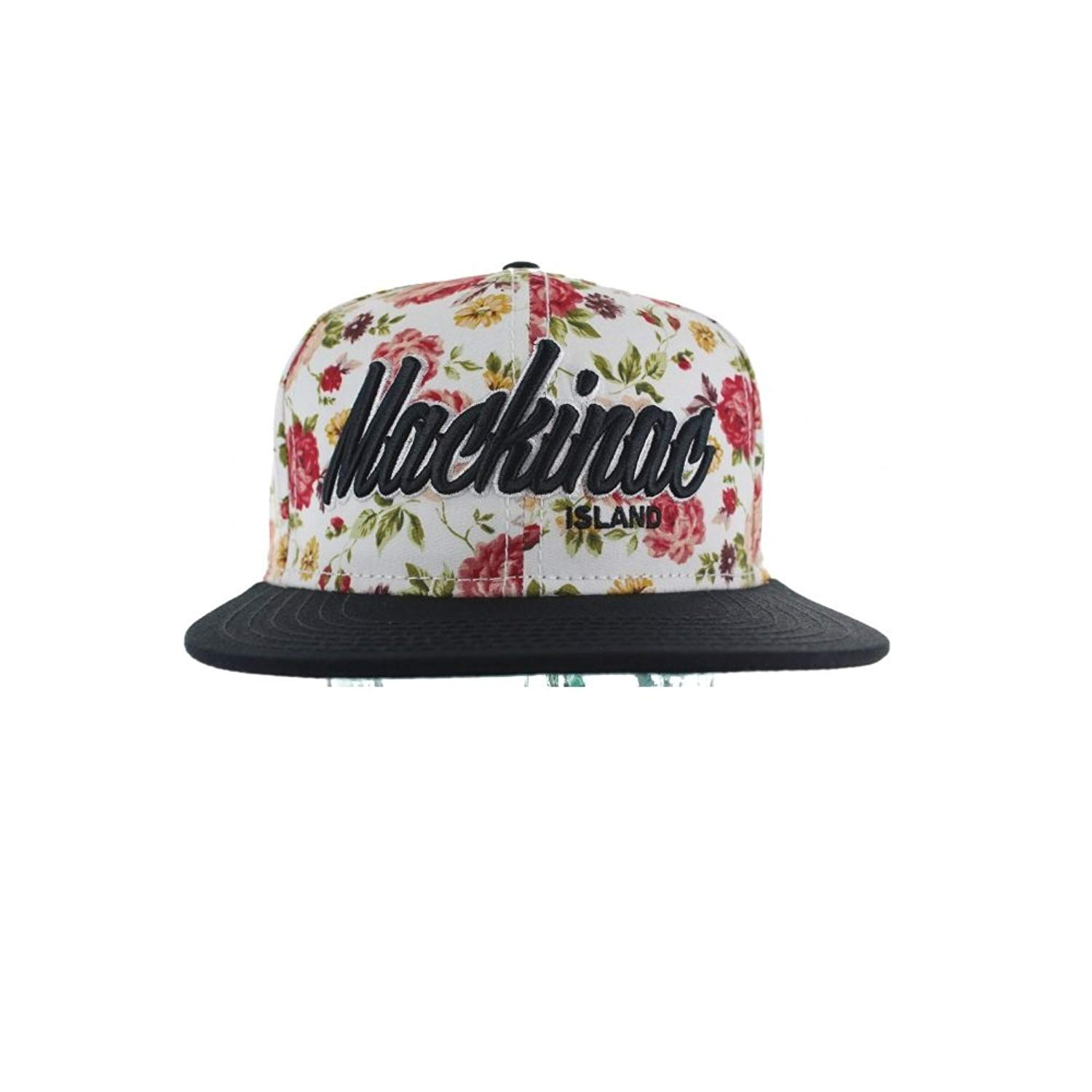 Get Quotations · Fashion Floral Snapback Hats Collection - The Floral  Snapback Caps e992567ae47