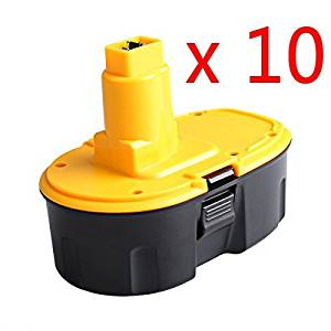 Replace for Dewalt 18V XRP Battery 3.0Ah DC9096 DC9098 DC9099 DW9095 DW9096 2PCS
