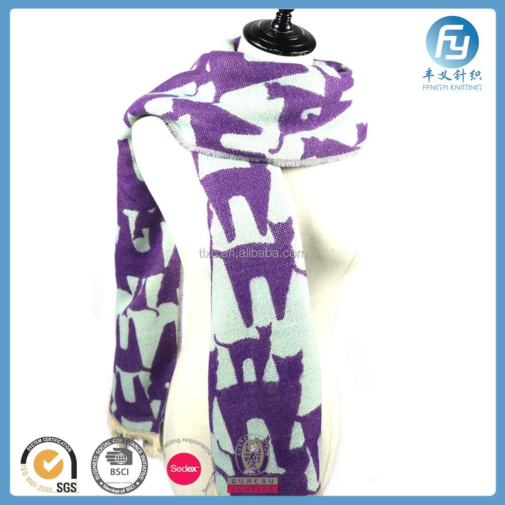Encuentre el mejor fabricante de patrones bufandas tejidas y ...