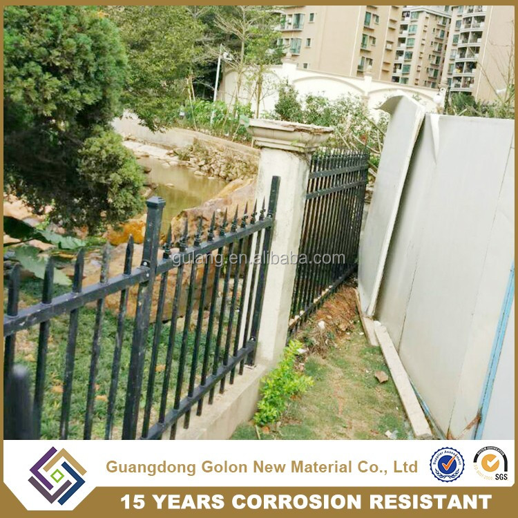 China supplier iron/aluminum types of fencing